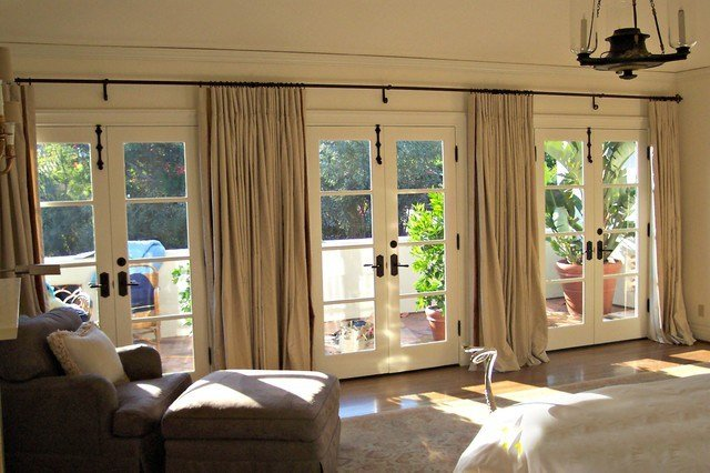 Best Window Treatments Contemporary Bedroom Los Angeles By Draperies By Walter With Pictures
