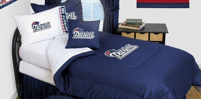 Best New England Patriots Bedding Nfl Comforter And Sheet Set With Pictures