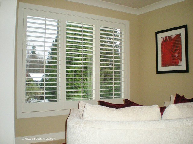 Best Plantation Shutters Traditional Bedroom Seattle By Newport Custom Shutters With Pictures