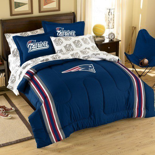 Best Nfl New England Patriots Bed In Bag Set Modern Bedding With Pictures