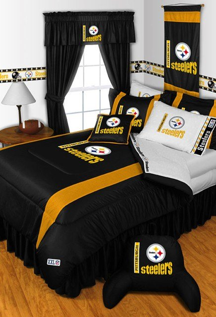 Best Nfl Pittsburgh Steelers Bedding And Room Decorations With Pictures