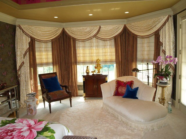 Best Swags And Cascades Traditional Bedroom Cleveland With Pictures