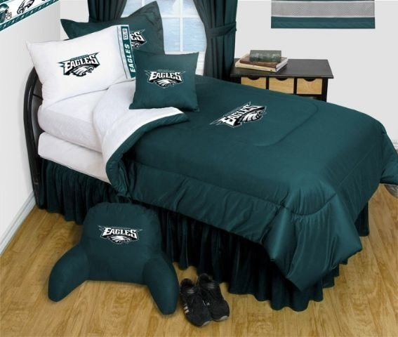 Best Philadelphia Eagles Nfl Bedding Complete Set Full W 2 With Pictures