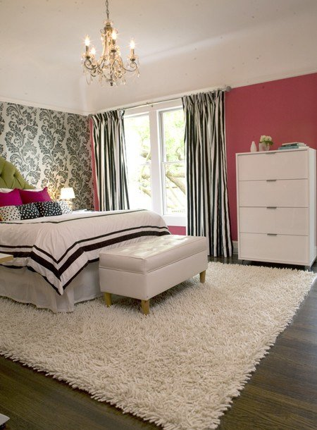 Best Modern Girly Bedroom Eclectic Bedroom Other Metro With Pictures