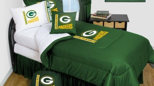 Best Green Bay Packers Bedding Nfl Comforter And Sheet Set With Pictures
