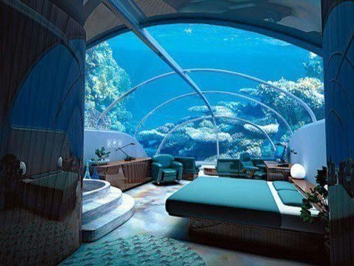Best 10 Bedrooms That Look Like They Re Under Water With Pictures