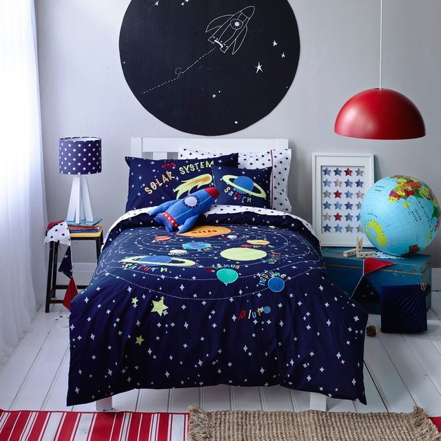 Best Kids Boys Solar System Linen Set Contemporary Kids Bedding Melbourne By Adairs With Pictures
