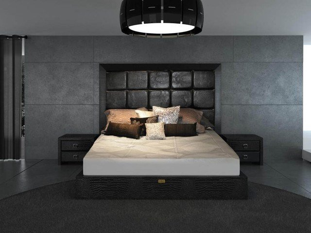 Best Unique Leather Contemporary Platform Bedroom Sets Modern With Pictures