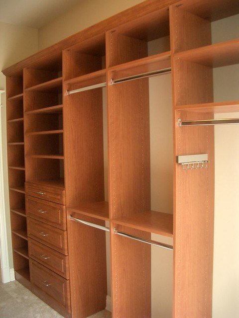 Best Custom Master Bedroom Closets Traditional Closet With Pictures