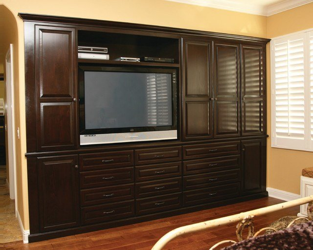 Best Entertainment Centers Built In Niches Transitional With Pictures