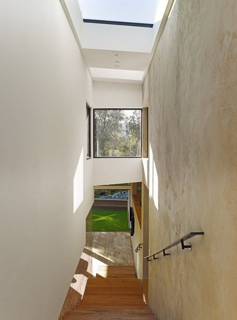 Best Mill Valley Contemporary Split Level Staircase From Master With Pictures