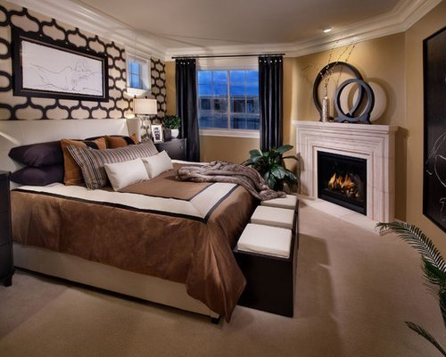 Best Bedroom Fireplace Home Design Ideas Pictures Remodel And Decor With Pictures