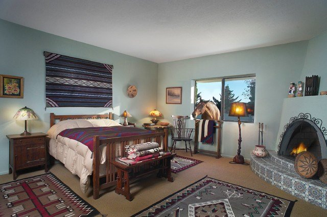 Best Western Theme With Navajo Rugs And Arts Crafts With Pictures