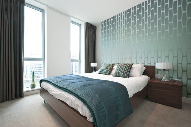 Best Cellular Wallpaper Modern Bedroom Detroit By The With Pictures