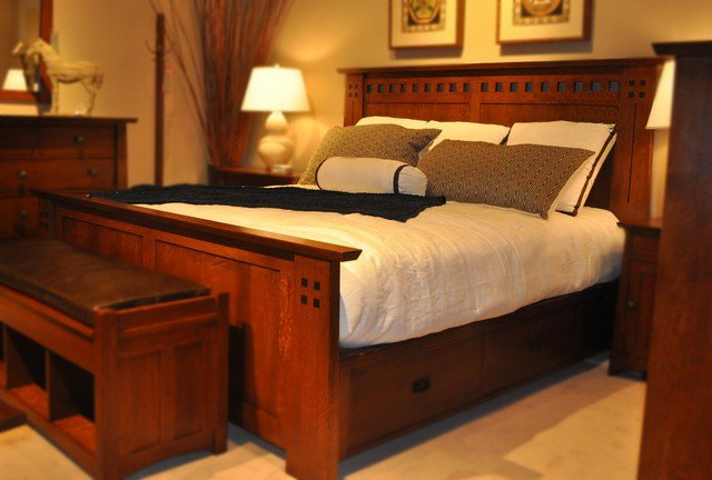 Best Stickley Mission Bedroom Craftsman Bedroom Kansas City By Traditions Home With Pictures