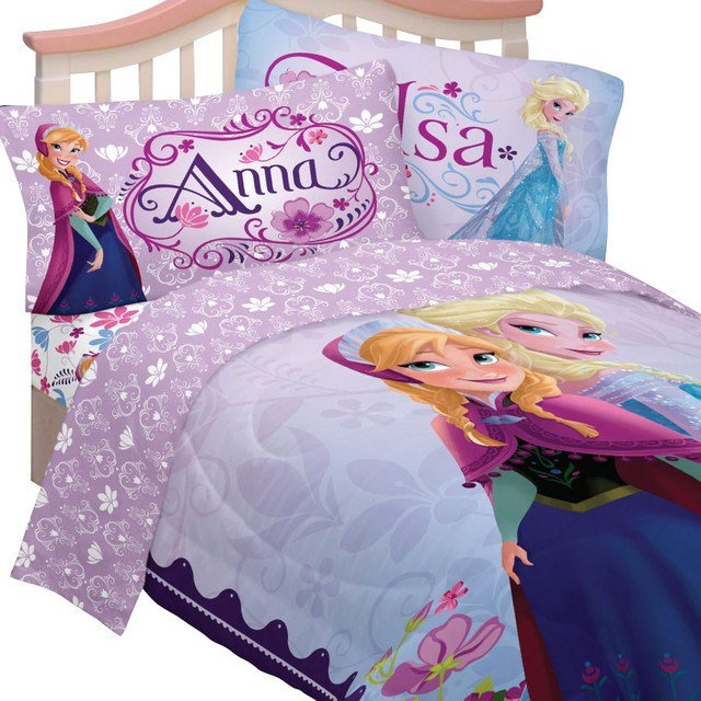 Best Disney Frozen Bedding Set Elsa Anna Celebrate Love Bed With Pictures