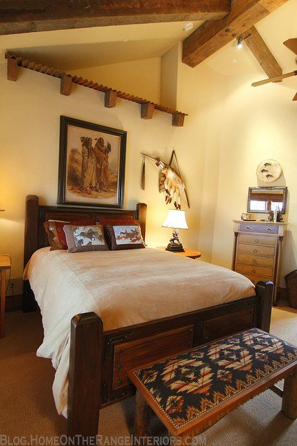 Best Western Mine Style Bedroom Rustic Bedroom Denver With Pictures