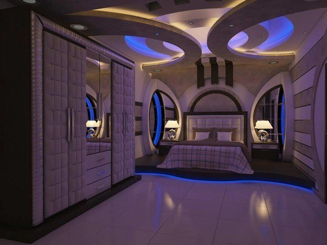 Best Plaster Of Paris False Ceiling Asian Bedroom Other With Pictures