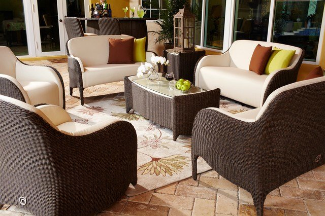 Best Luxor Outdoor Living Room Set Traditional Patio With Pictures