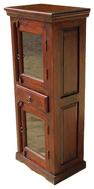 Best Wood Corner Armoire Hutch Storage Cabinet Bedroom Furniture Eclectic Armoires And Wardrobes With Pictures