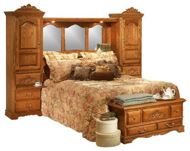 Best Pier Wall Carving Detail Bedroom Set Queen With Pictures
