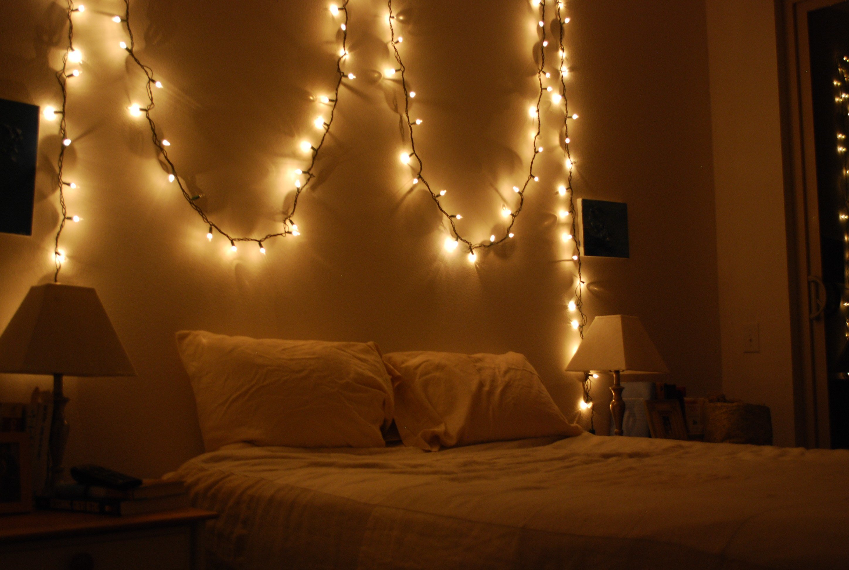 Best 1000 Images About Bedroom On Pinterest Christmas Lights Christmas Lights In Bedroom And With Pictures