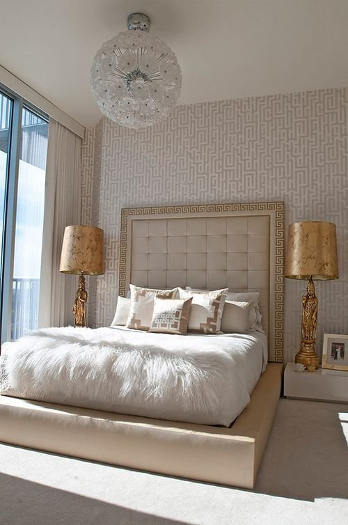 Best Gold And Cream Bedding Cynthia Reccord Dreamy Bedrooms Baths Ii… With Pictures