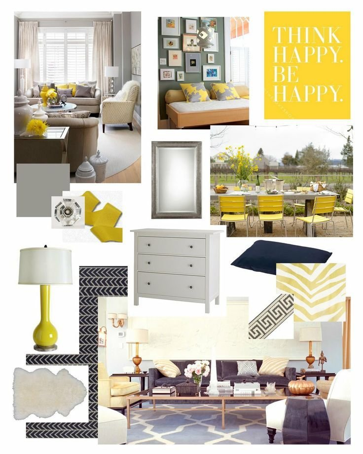 Best Yellow Navy Gray Bedroom For The Home Pinterest With Pictures
