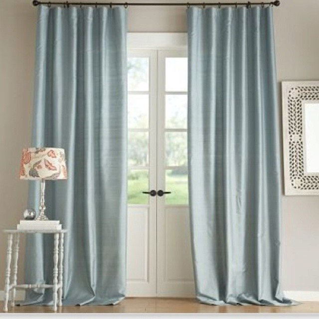 Best Pottery Barn Silk Dupioni Curtains June St Master With Pictures