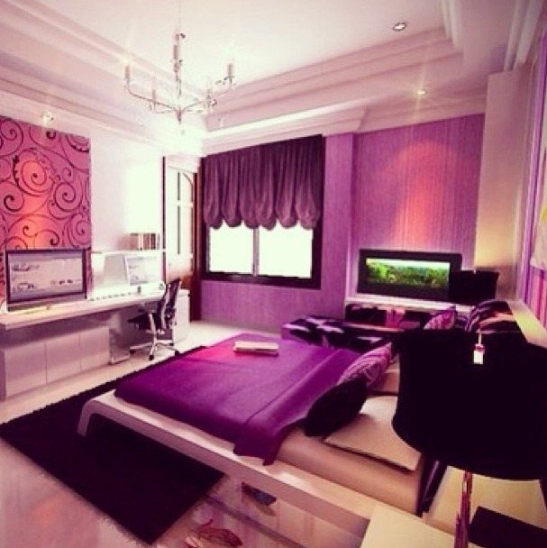 Best Purple Themed Bedroom My Future Room Pinterest With Pictures