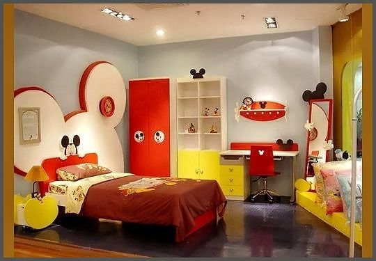 Best Mickey Mouse Bedroom For The Home Pinterest With Pictures