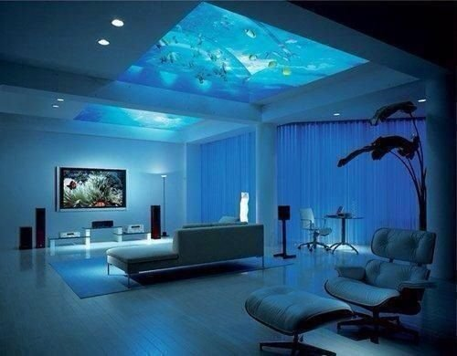 Best Bedroom With An Aquarium In The Ceiling Bedrooms And With Pictures