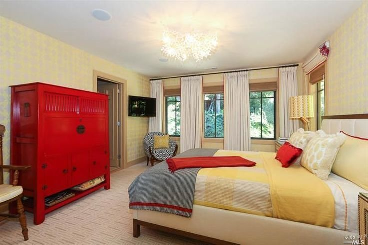 Best Red And Yellow Bedroom Dream Home Bedrooms Pinterest With Pictures