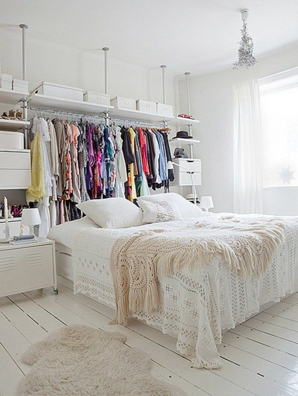 Best No Closet Bedroom Solution Good Ideas And Info Pinterest With Pictures