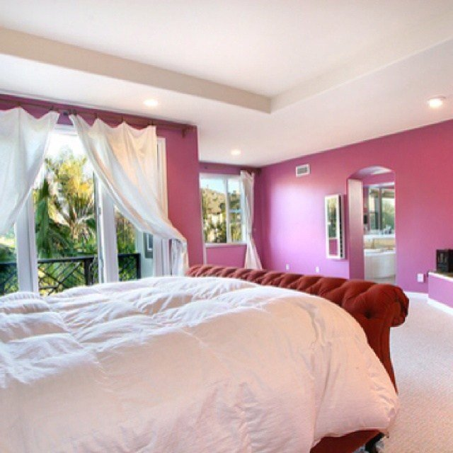 Best Raspberry And Cream Bedroom Design Pink Color Pinterest With Pictures