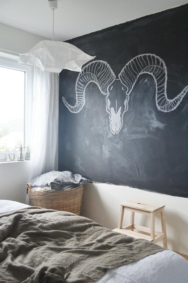 Best Chalkboard Paint Art Bedroom My Home Pinterest With Pictures