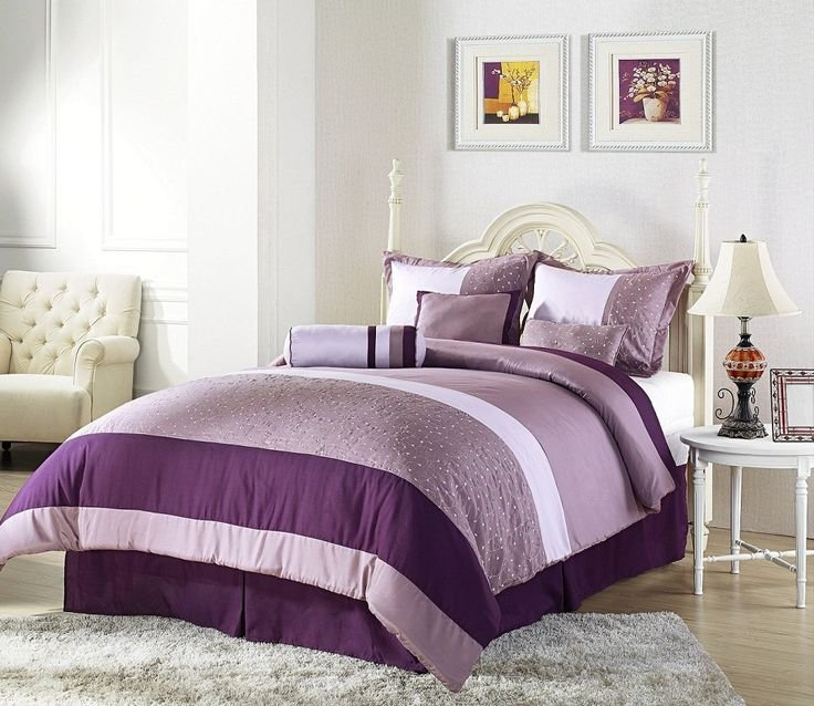 Best Purple And Cream Master Bedroom Master Bedroom Pinterest With Pictures