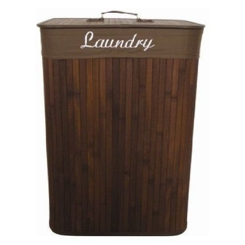 Best Bamboo Laundry Hamper Clothes Bedroom Bed Bathroom Washer With Pictures