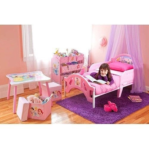 Best Princess Girls Bedroom Set Toddler Room In A Box Bed Toy With Pictures