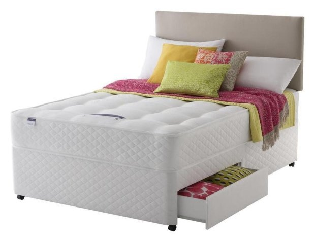 Best Buy Silentnight Mckenna Ortho Kingsize Divan Bed 2 With Pictures