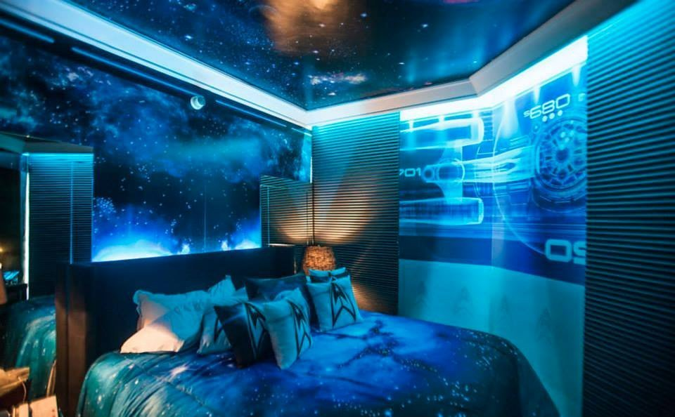 Best Star Trek Themed Hotel Room In Sao Paulo Mightymega With Pictures