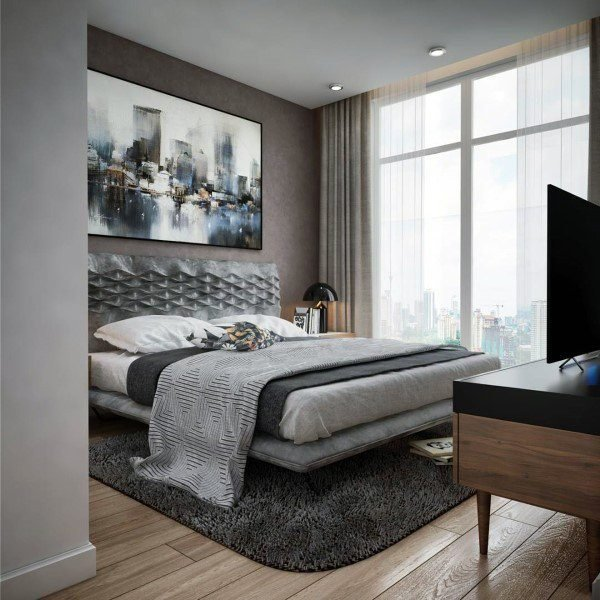 Best Top 60 Best Grey Bedroom Ideas Neutral Interior Designs With Pictures