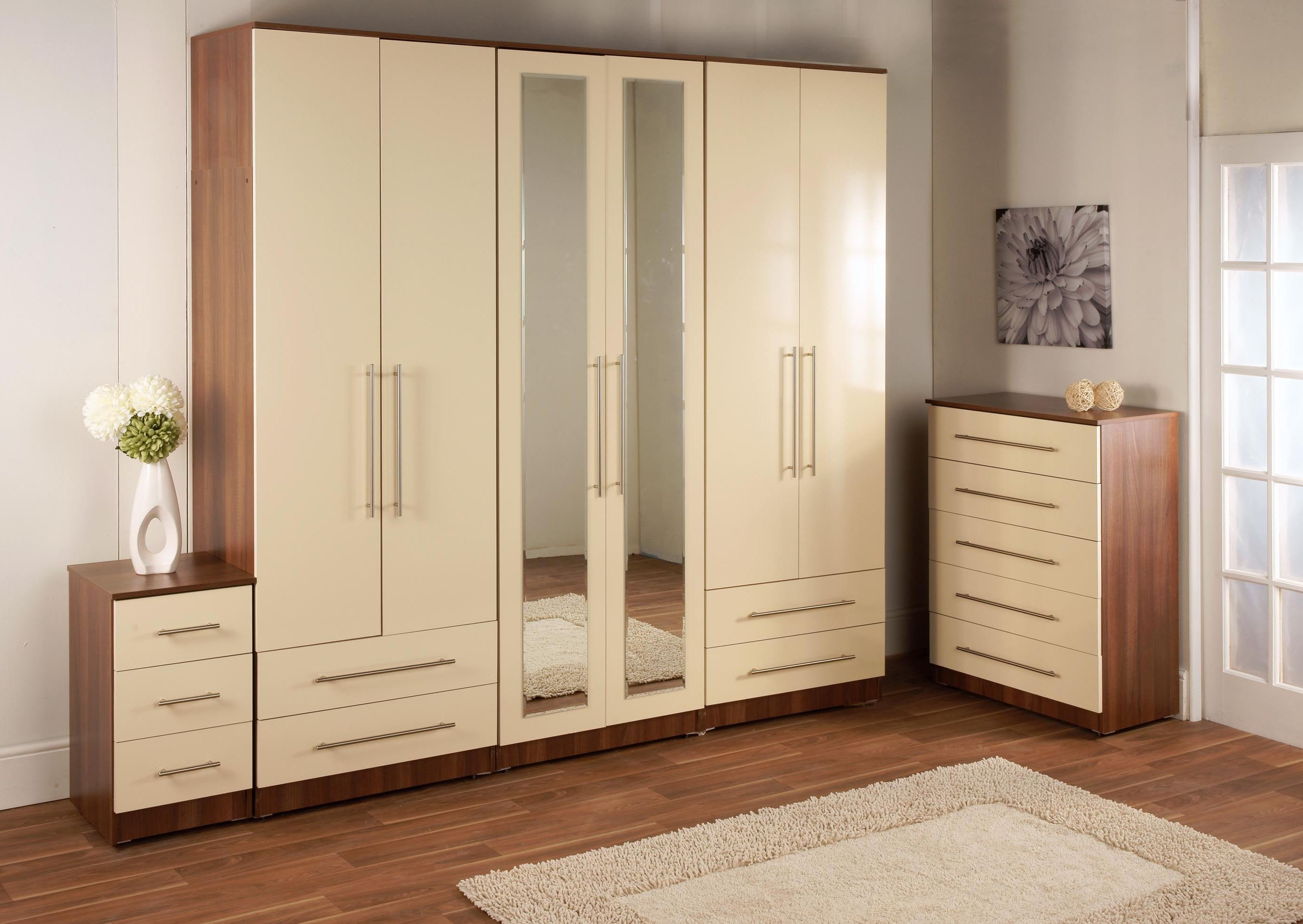 Best Wall Wardrobe Designs Free Design With Dressing Table With Pictures