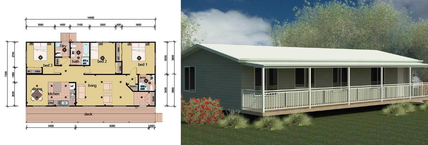 Best The Martens 3 Bedroom 2 Bathroom Modular Home Parkwood Homes With Pictures