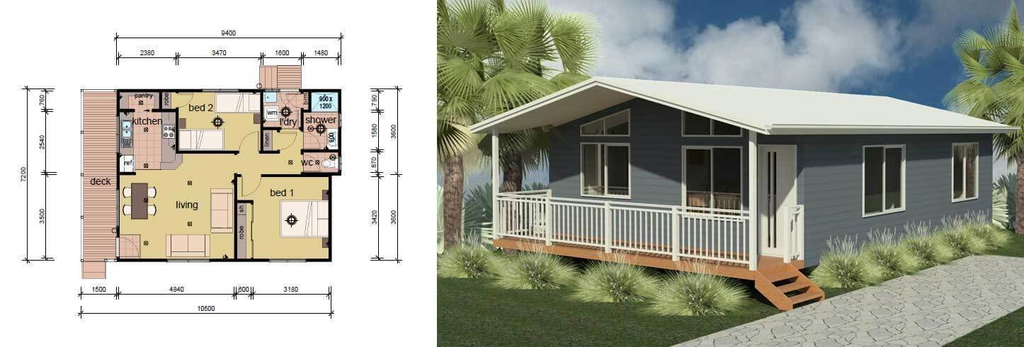 Best The Nolan 2 Bedroom Modular Home Parkwood Homes With Pictures