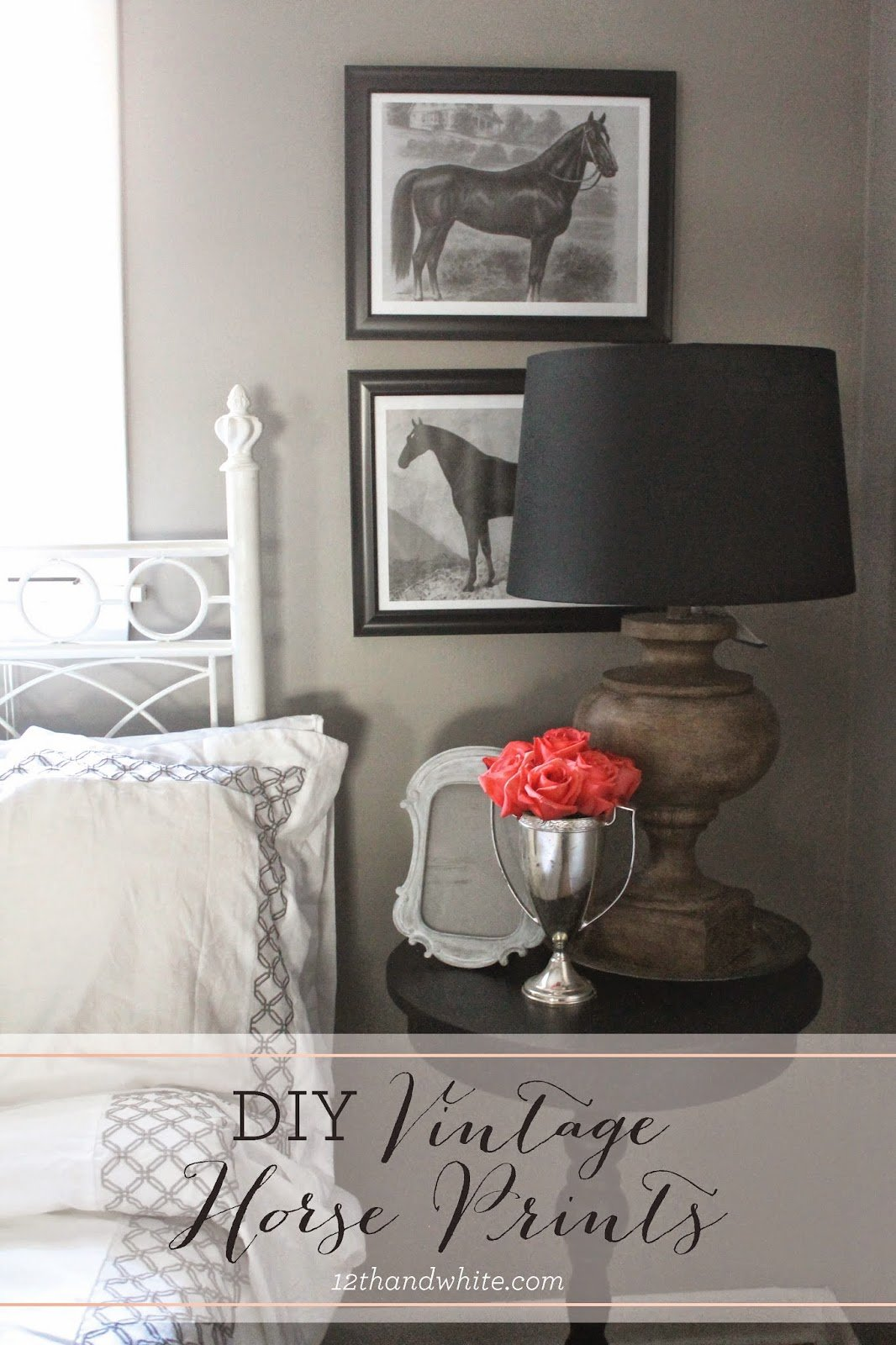 Best 12Th And White Diy Vintage Horse Prints And Our Guest With Pictures