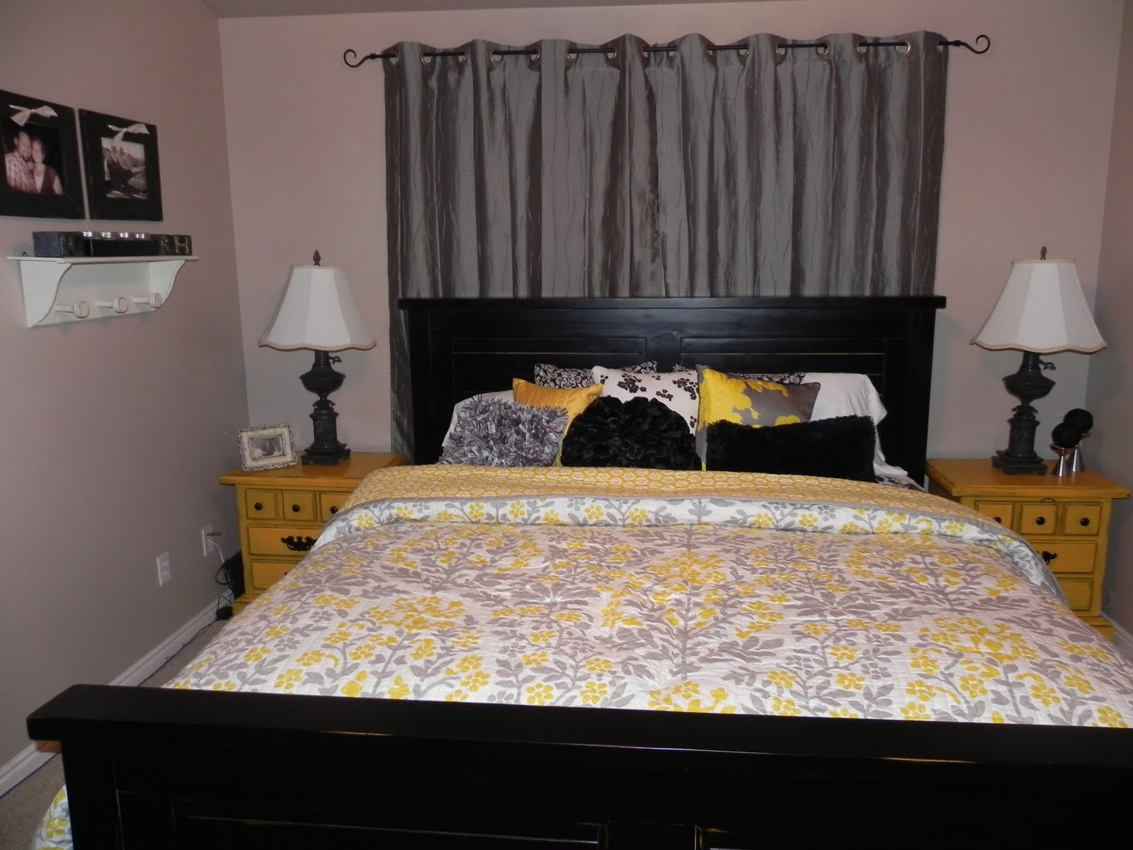 Best Yellow And Gray Master Bedroom By Chelsea Feature Friday With Pictures