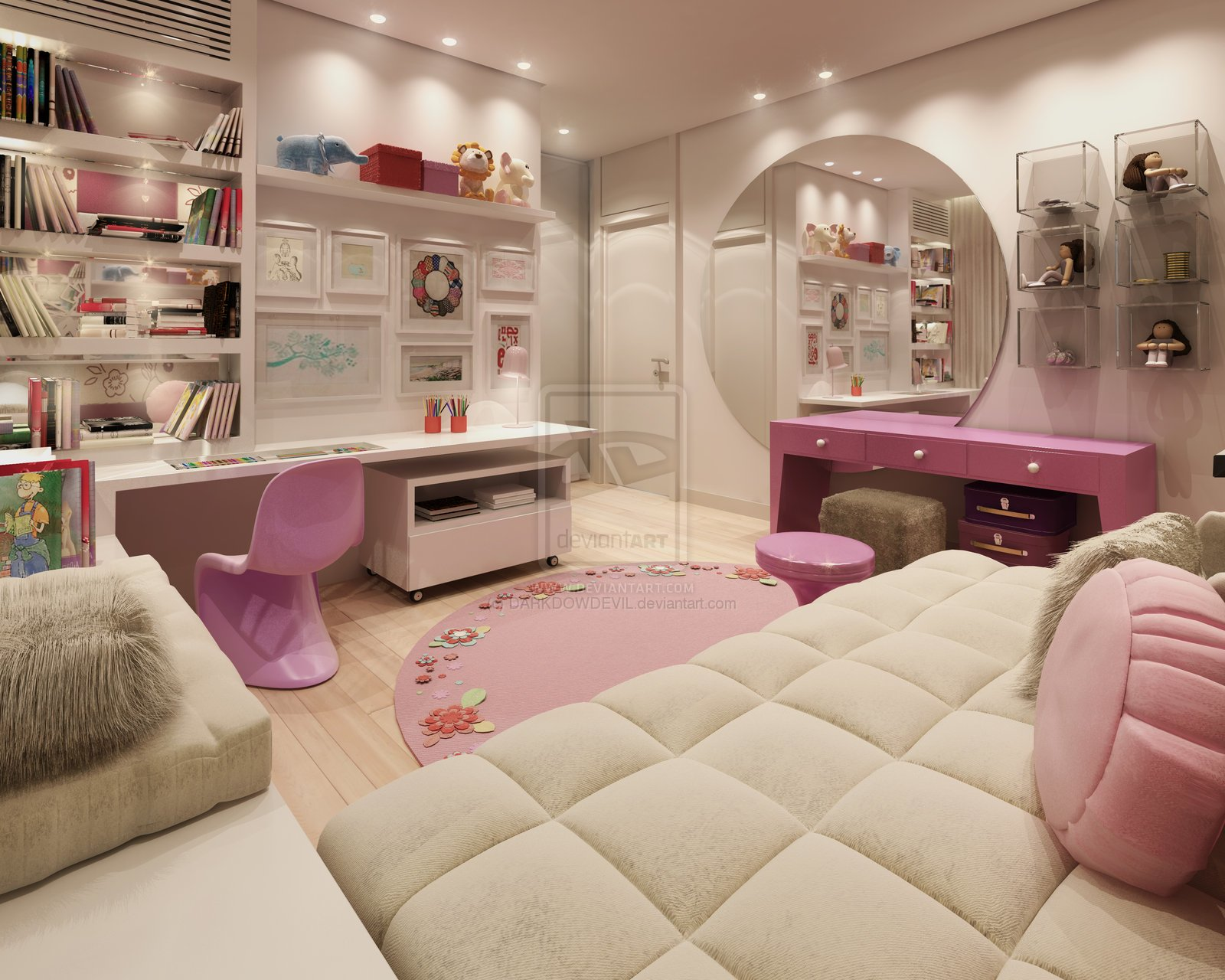 Best Girly Bedroom Design Ideas Azee With Pictures