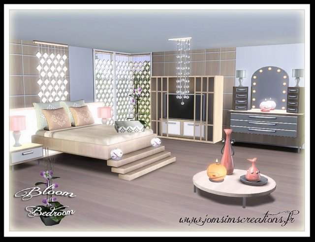 Best My Sims 3 Blog Bloom Bedroom Set By Jomsims With Pictures