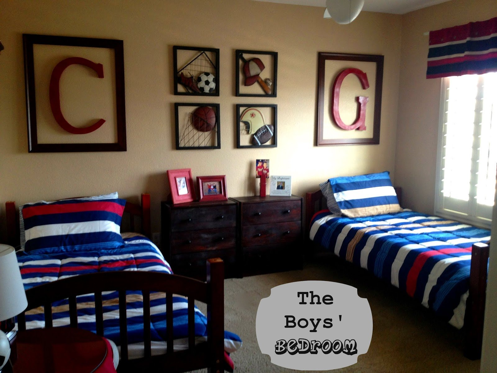 Best Marci Coombs The Boys Sports Themed Bedroom With Pictures